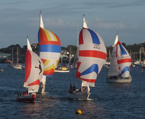 finishing with spinnakers